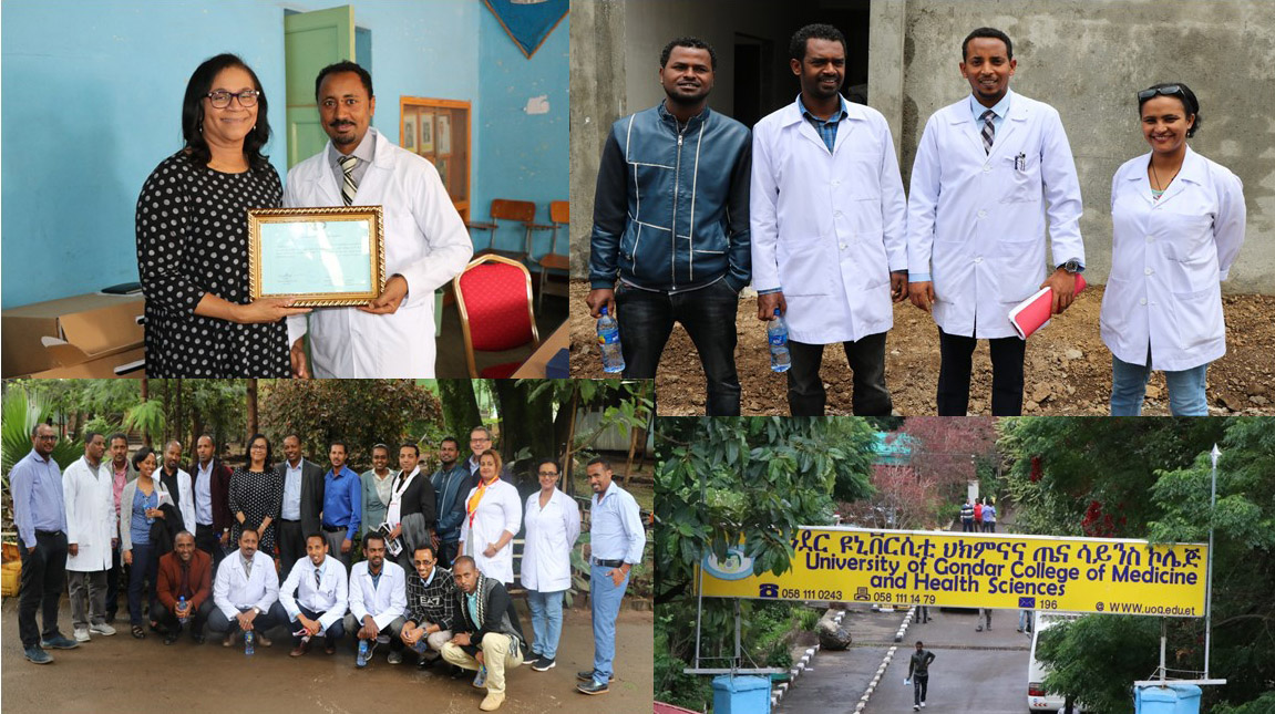 "University of Gondar confers CIRHT with ""Best Partner of the Year"" award"